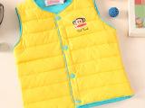 儿童羽绒服马甲背心 中小童宝宝羽绒背心男童女童短款糖果色