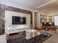 89平现代简约两居室装修效果图,杭州一号家居网