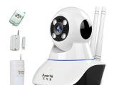 家用监控防盗无线摄像头 监控报警器一体机