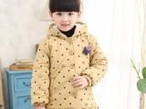 冬装新款童装棉服外套韩版时尚,厂家批发