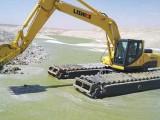 210型水陸挖掘機出租水上挖掘機出租水路挖掘機出租服務正規