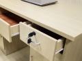办公桌板式办公桌椅组合简约办公台重庆家具生产厂家可定做低价
