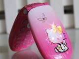 镶钻KiTTY猫超小袖珍MINI迷你翻盖手机D10可爱女生卡通儿