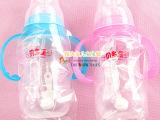 婴儿必备用品 贝多星 PP双柄弧形自动奶瓶210ML 不含双酚A