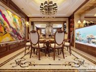 山水装饰作品凯旋门320平米欧式优雅风情, 精致生活的向往