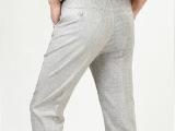 2014男装裤子新款男式休闲裤长裤夏装商务男裤 免费代理男装