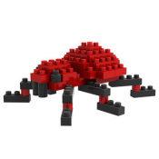 俐智 loz小颗粒迷你钻石积木 拼装插儿童益智力玩具9276蜘蛛