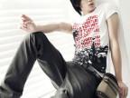 新款男装韩版印花纯棉短袖 短t恤 潮牌韩版短袖潮人t恤