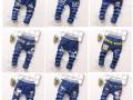 贵阳5块钱童装批发秋季新款儿童牛仔裤特批发乡镇童装店进货渠道