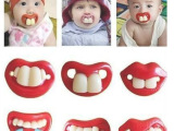 创意搞怪安抚奶嘴母婴用品恶搞搞怪奶嘴婴儿