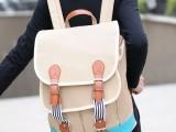 爱情雨同款包包允儿夏娜背包 双肩包 2013新款帆布包书包