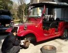 苏州常熟上门维修电动巡逻车,观光车等四轮电瓶车