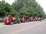 解放虎v平板运输车,潍柴140马力挖机拖板车