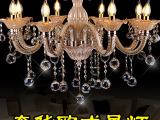 奢华欧式客厅吊灯 创意卧室书房水晶灯个性餐吊灯具餐厅艺术灯饰