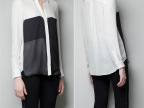 ASDS现货批发 2013春款新品 女式欧美长袖衬衫9083