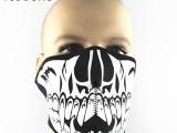 新款骷髅小狼牙面罩 防风防尘护嘴护脸CS