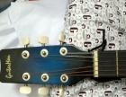 民谣吉他一时喜欢买的不会玩没怎么动过