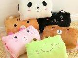 卡通动物暖手捂抱枕 暖手枕暖手捂子 十款选 礼品赠品定做