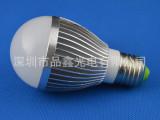 爆款促销!!厂家直销大功率5W球泡灯 车铝外形 LED球泡灯 球