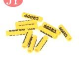 東莞廠家定制硅膠軟膠頭 絲印OLGO運動鞋帶頭 衛衣帽繩頭