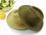 儿童帽子 小孩遮阳帽子 帅气西边牛仔帽子 男童绅士爵士帽子