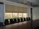 上海嘉定区定做办公楼窗帘卷帘嘉定安亭铝百叶定做阳光房电动窗帘