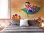 KTV 壁画 网咖壁画 幼儿园墙画 办公室装饰画 游戏人物画