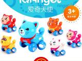 爱奇天使发条上链玩具 婴儿童宝宝小猫咪益智卡通动物玩具批发