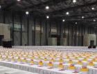 各种展会桁架摊位搭建,长条桌,靠背椅布场