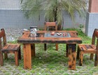 老船木家具功夫茶桌椅组合古船木茶台现货厂家直销