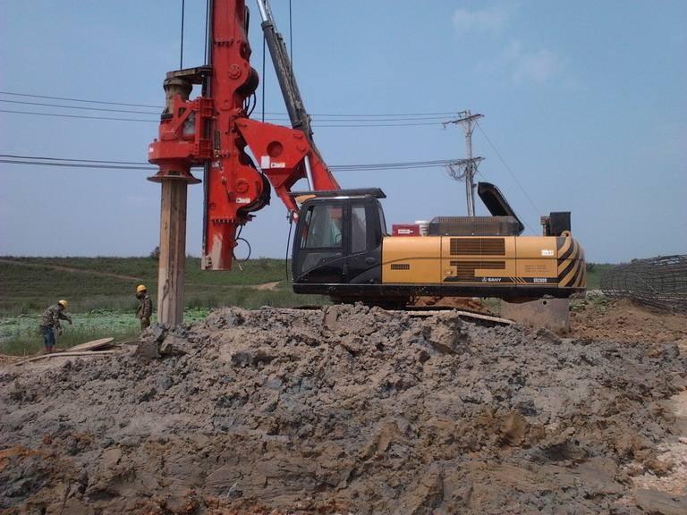 防城港哪里有旋挖钻机施工队伍?广西旋挖钻机专业承包桩基础施工