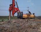 来宾市柳州市全新三一280旋挖钻机出租公司承接旋挖桩工程