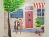 桂林街头专业涂鸦 围墙专业涂鸦 专业墙绘彩绘