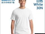 吉尔丹63000 杰丹热转印空白衫 纯色短袖t恤全棉圆领文化衫广