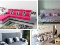 各种新款拐角布艺沙发,双人、三人座沙发,办公沙发,PU卡座等