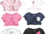 外贸原单 幼儿小披肩 儿童装纯棉短袖 宝