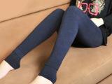七彩棉打底裤女韩版潮长裤外穿秋冬显瘦韩国冬季加厚加绒棉连裤袜