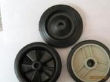 批发脚轮 橡胶轮 割草机轮子 塑料毂橡胶
