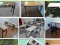 全新学生课桌椅 升降桌 儿童桌 幼儿园环保学习桌 黑白版 等