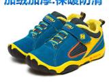 冬季新款韩国男童鞋外贸原单保暖棉鞋真皮儿童冬鞋厂家直销