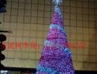 太原圣诞树销售【8米10米圣诞】真树-树木缠灯亮