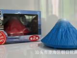 USB迷你日本富士山加湿器 火山雪山加湿器混装批发
