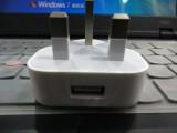 apple足1A 原装三角英规充电器苹果充电器原装三角英规充电器