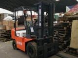 江苏省三吨柴油叉车销售电话,3.5吨七吨叉车代理商