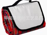 专业生产  晴纶格子野餐休闲垫  优质野餐垫  提手便携带沙滩垫