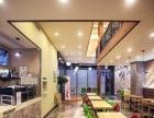 近江地铁站旁商场一楼咖啡厅转让,可做重餐饮