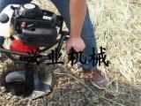 衡水果树移栽专用挖坑机 打洞机