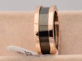 爆款热销 奢华欧美慈善戒指玫瑰金戒指 单环 陶瓷戒指MJ-038