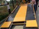 宝鸡平板运输车道路救援车公路清障车平板拖车厂家直销1年2.3万公里8万