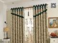 梦斓莎窗帘马伊俐教你:客厅与窗帘的搭配